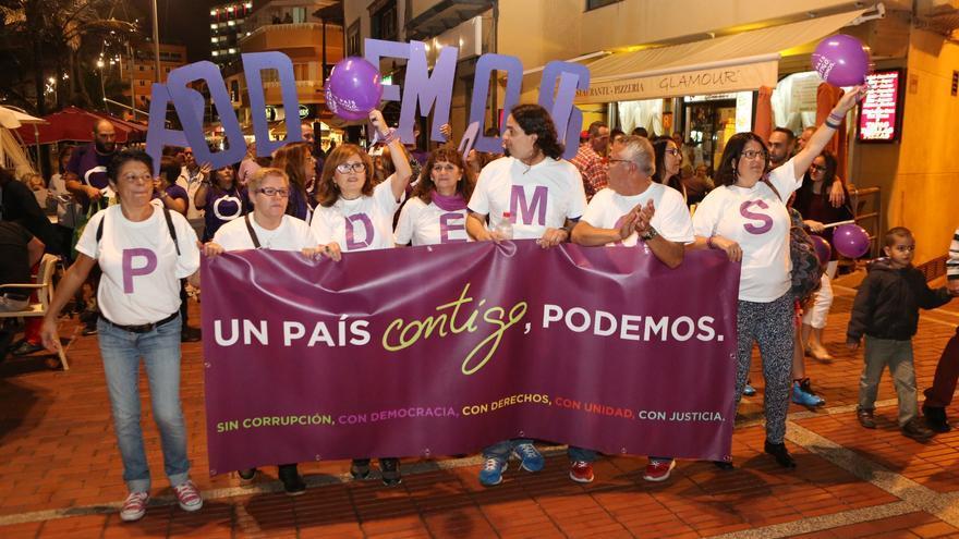 Cierre de campaña de Podemos en Las Palmas de Gran Canaria (ALEJANDRO RAMOS)
