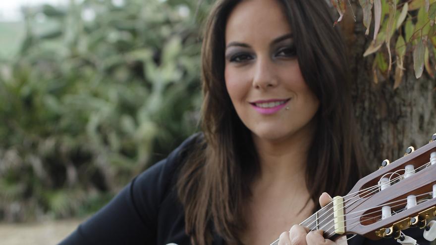 La cantautora Lucía Sócam