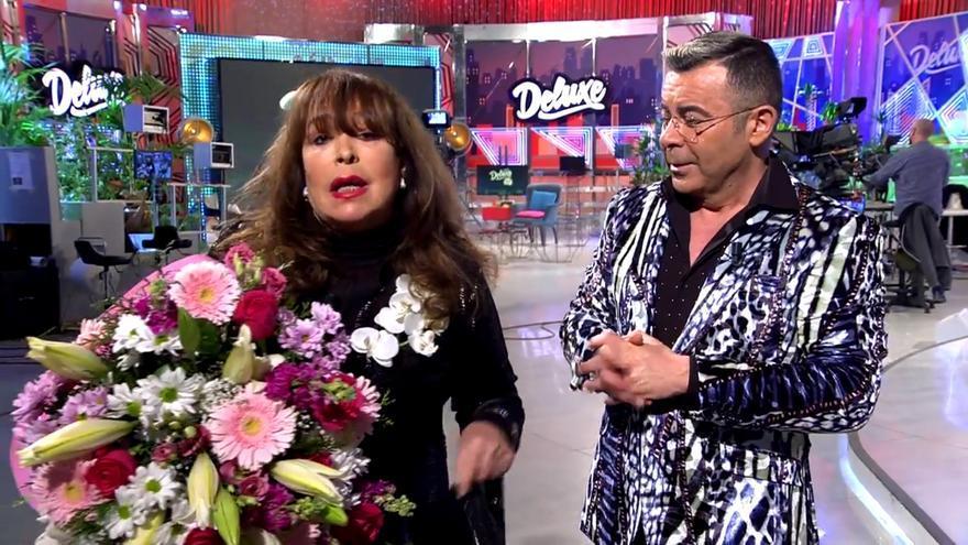 Massiel y Jorge Javier en 'Deluxe'