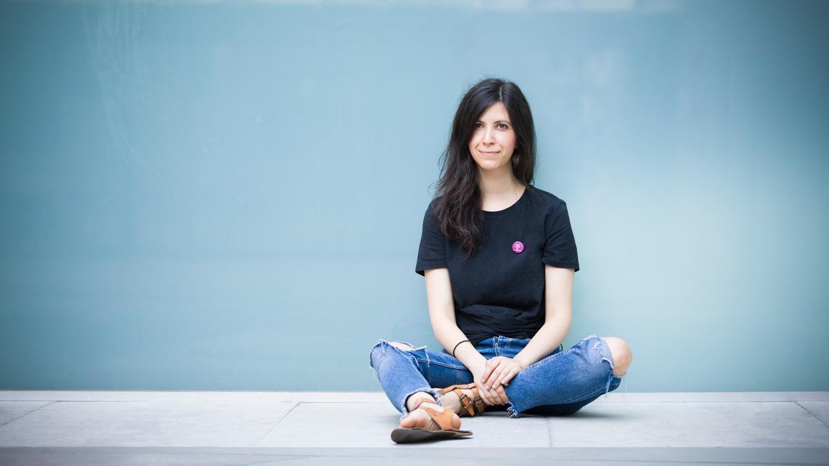 La periodista experta en feminismo Ana Requena Aguilar, autora de 'Feminismo vibrante'