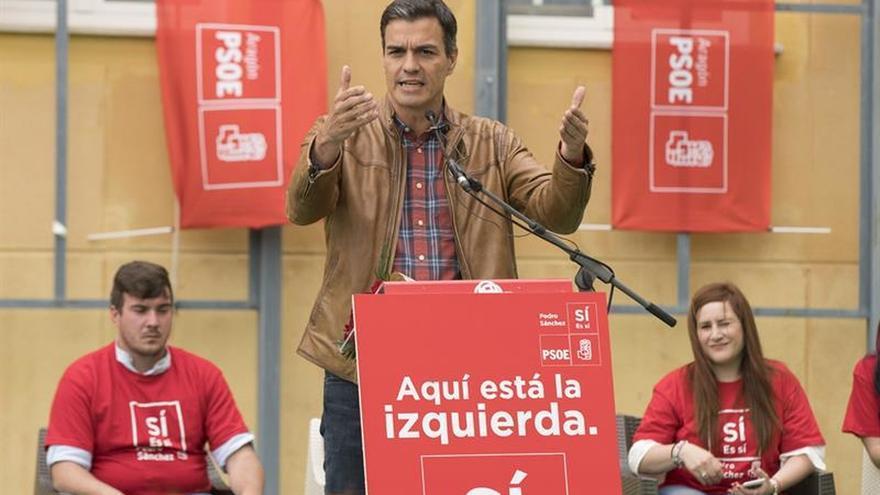 """Sánchez cree que el programa de Díaz repite modelos liberales """"fracasados"""""""