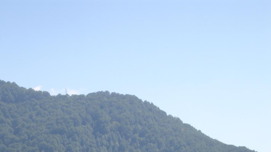 Enclave del Castillo Poienari, la fortaleza de Vlad Draculea.