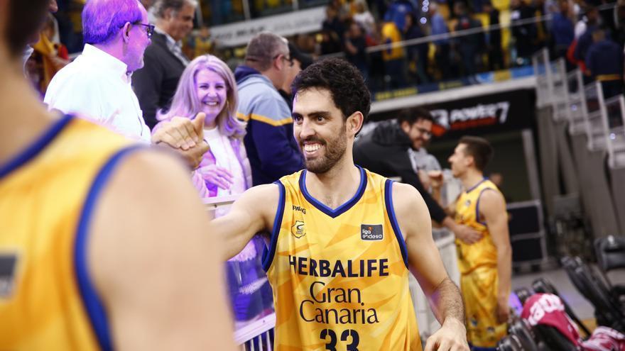 Javi Beirán, listo para el encuentro frente al Barca Basket
