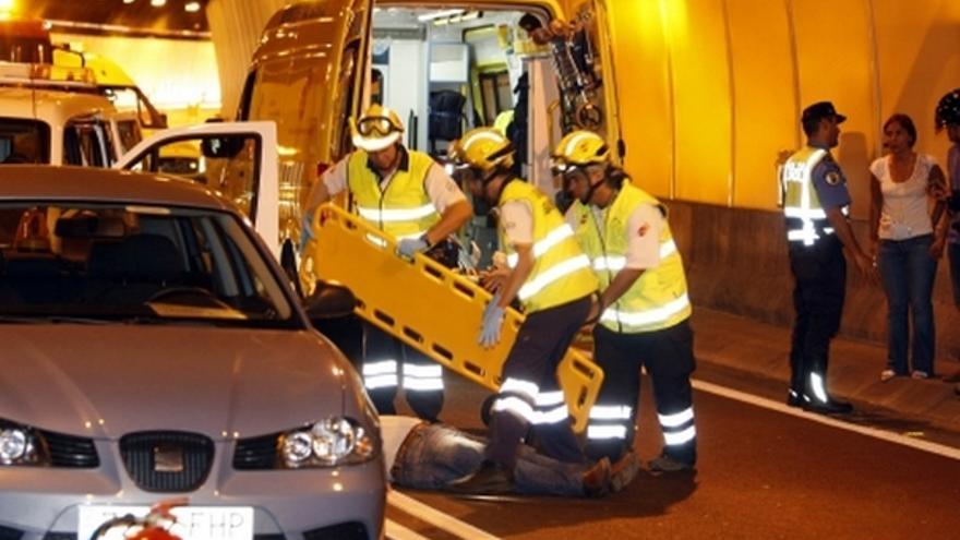 Del simulacro de accidente en el túnel de Pedro Hidalgo #7