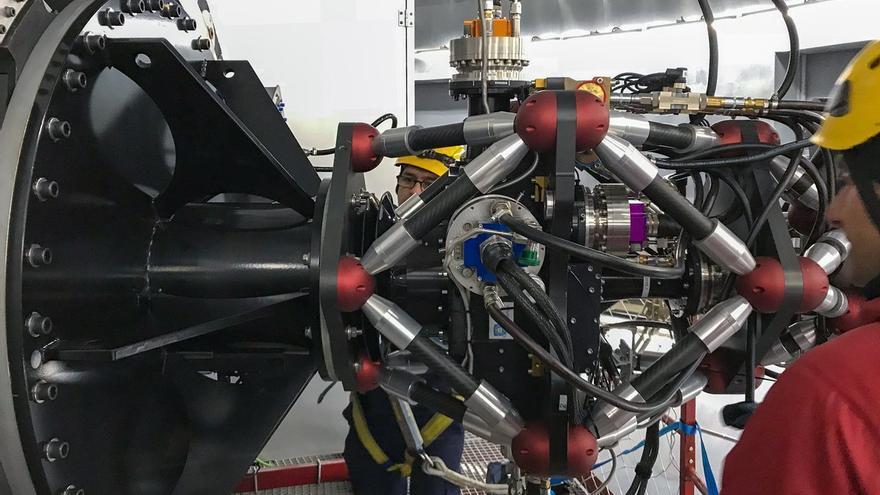 El Hipercam es una cámara de alta velocidad para el estudio de la variabilidad rápida en el Universo.