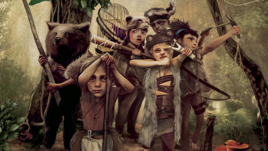 Los niños perdidos, de Antonio Lorente