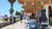 """Las terrazas de Málaga piden orden: """"La gente tiene que aprender a tomarse una cerveza"""""""