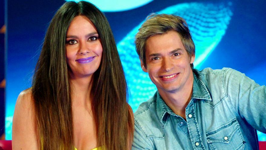 Vídeo: Pedroche, con Baute en el plató de su nuevo programa para Antena 3