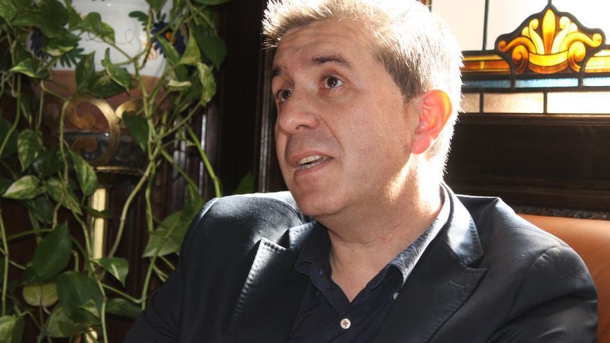 El presidente de la Diputación de Albacete, Santiago Cabañero