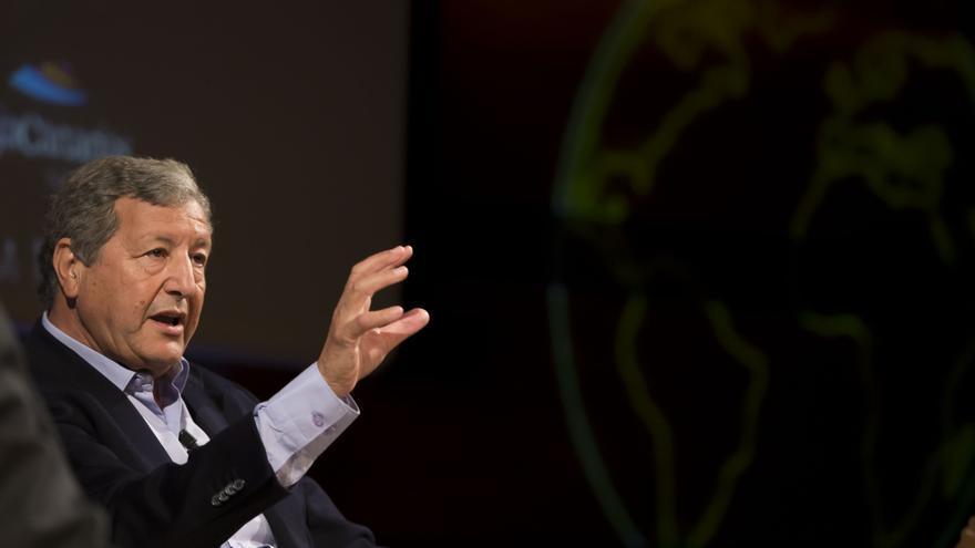 El politólogo y profesor Sami Naïr, este jueves en el Foro Enciende la Tierra