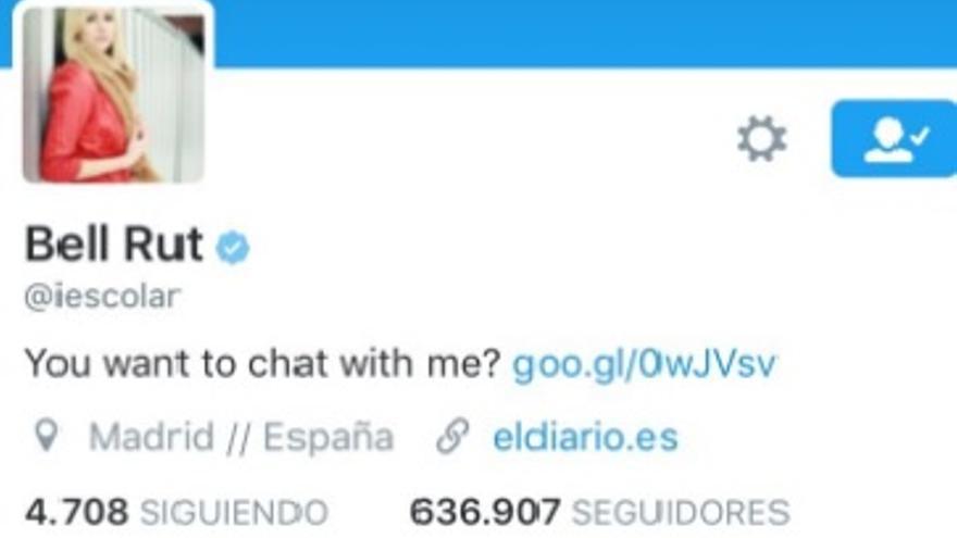 La cuenta porno spam que suplantó la de Ignacio Escolar esta mañana