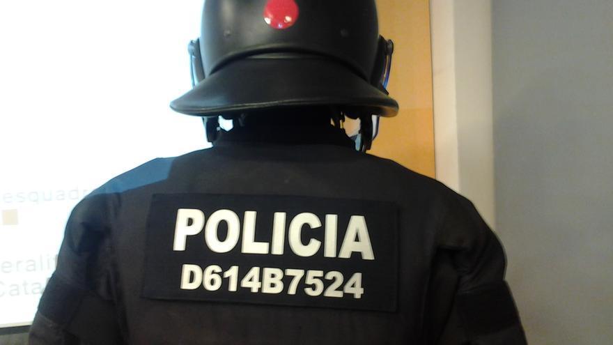 El conseller no ha querido desvelar a qué responde la combinación de números. (Foto: Pau Rodríguez)