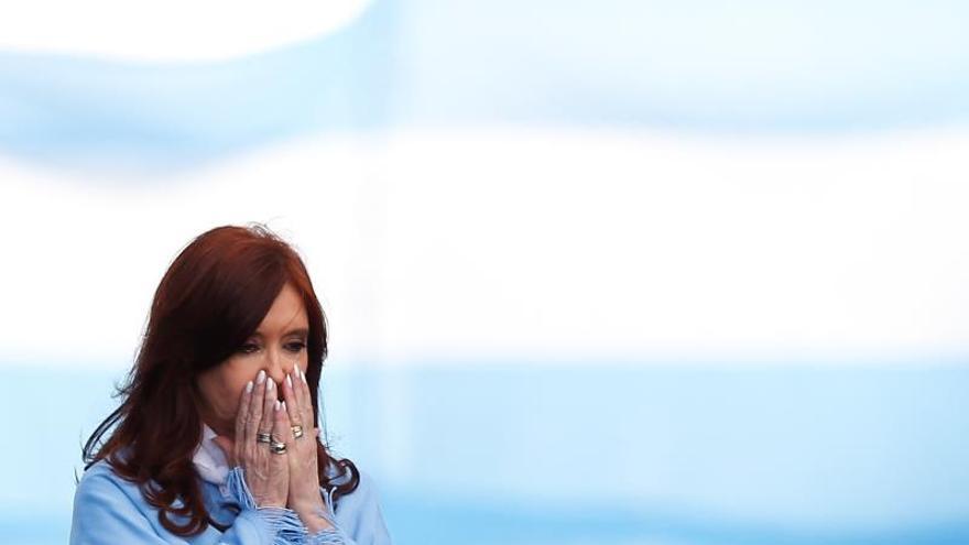 En la imagen la vicepresidenta electa argentina, Cristina Fernández de Kirchner.