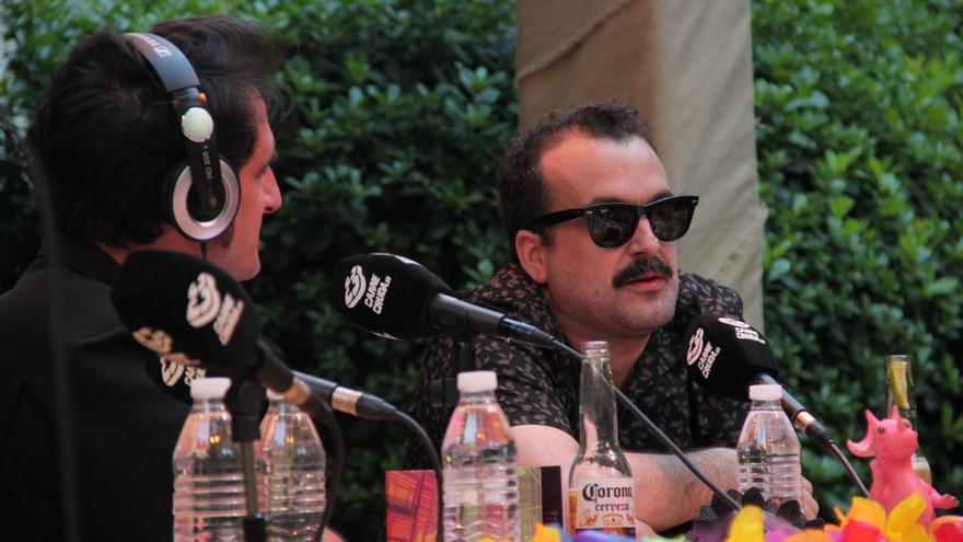 Nacho Vigalondo y Javier Gallego en Carne Cruda