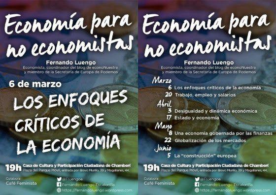 Charlas de economía para no economistas