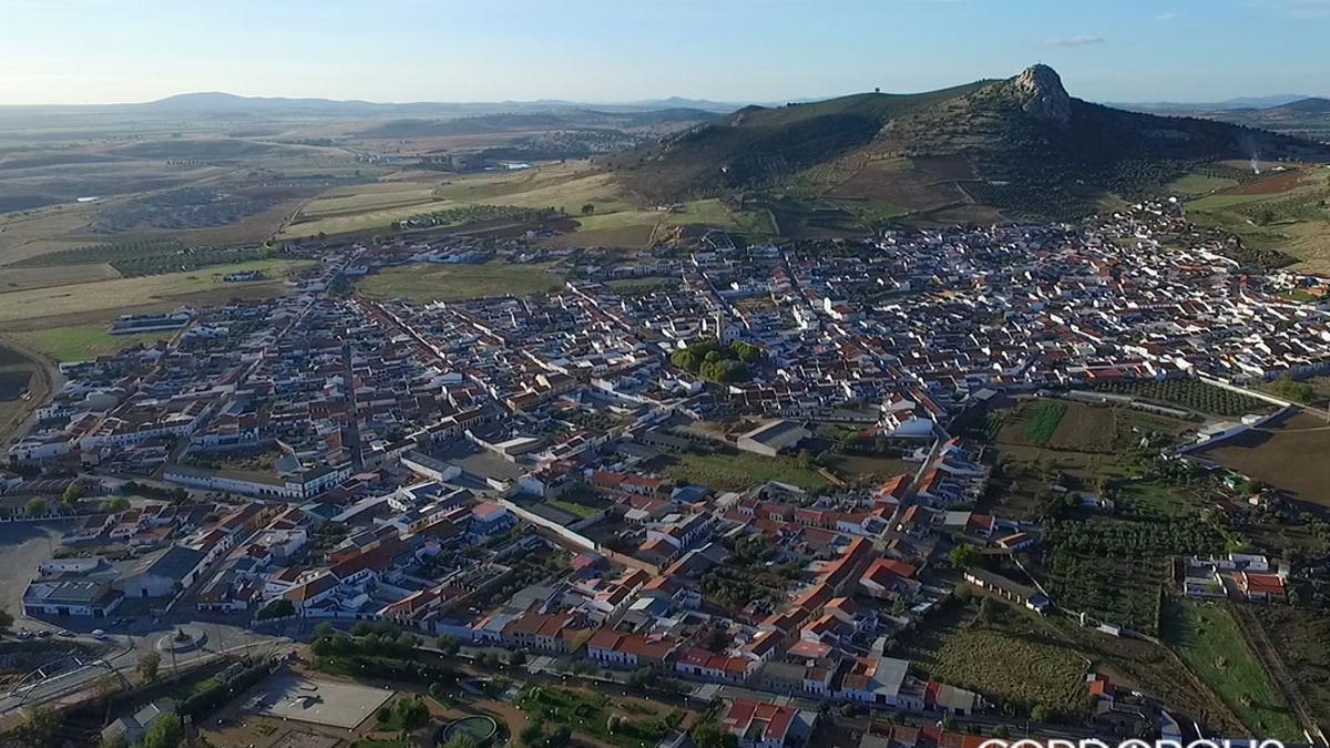 Vista aérea de Peñarroya