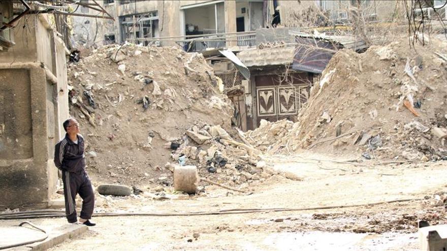 Mueren 7 civiles, entre ellos 4 niños, en un ataque aéreo del régimen en Alepo