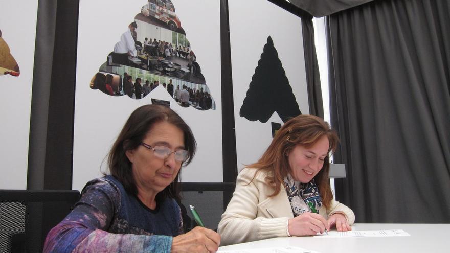Casa Gurbindo y Eunate colaborarán para hacer accesibles a las personas sordas todas las actividades del centro