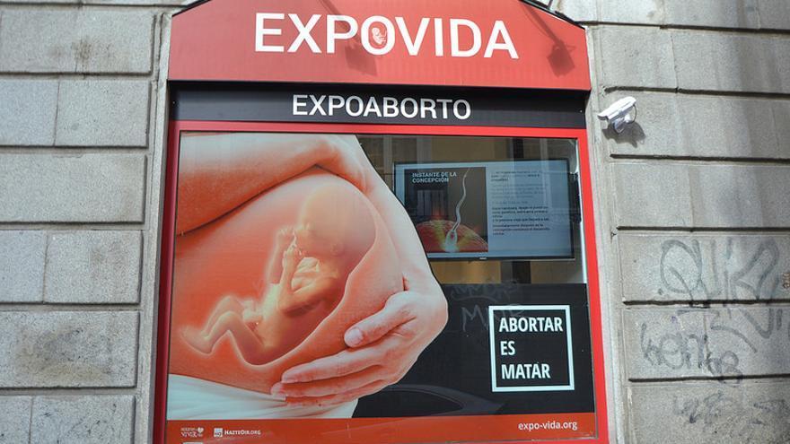 Cartel de la exposición / FLICKR de HazteOir.org