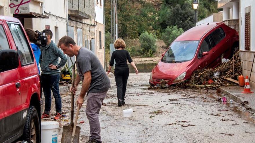 Las inundaciones de Mallorca dejan 91 millones en daños materiales, 19 en casas