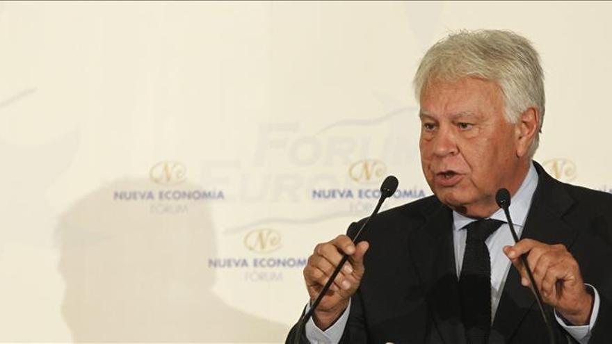 """F. González defiende el pacto antiyihadista como un acto de """"responsabilidad"""""""