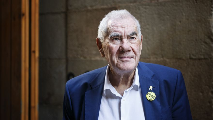 Ernest Maragall, candidato de ERC a la alcaldía de Barcelona