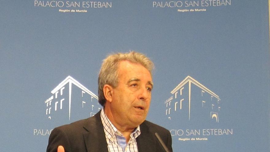 Consejero Antonio Cerdá, el más veterano del Gobierno murciano e imputado en 'Novo Carthago', presenta su dimisión