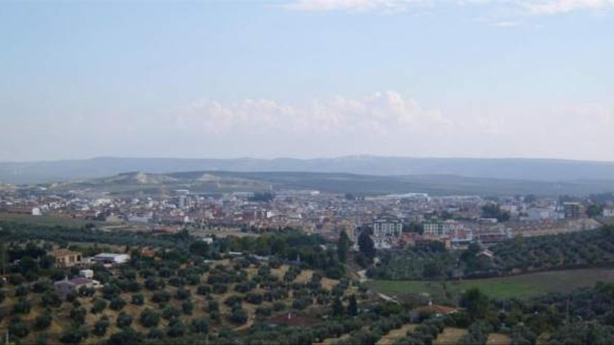 Vista de Bailén.