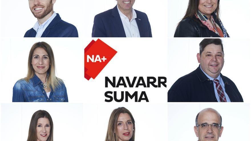 Candidatura de UPN, Ciudadanos y PP, 'Navarra suma'.