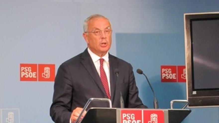 El secretario xeral del PSdeG, Pachi Vázquez