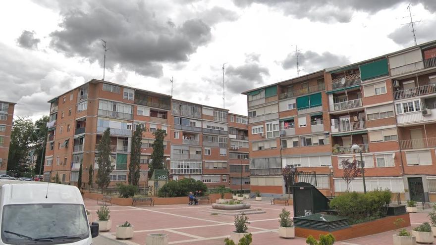 La colonia de Puerto Chico, en Aluche, una de las zonas con menos ascensores de Madrid