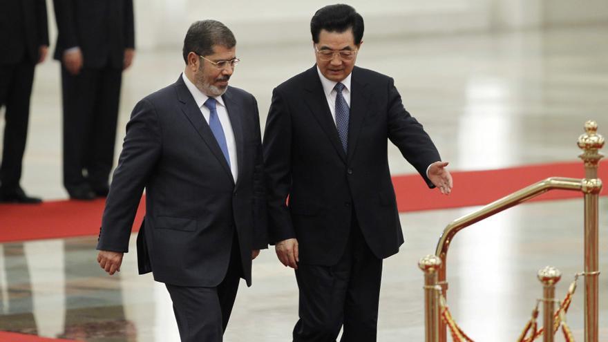 Mursi tratará sobre la inversión con una China suspicaz con la Primavera Árabe