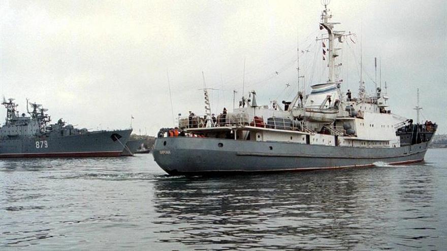 Soldados rusos desaparecidos tras chocar un buque de guerra en aguas turcas