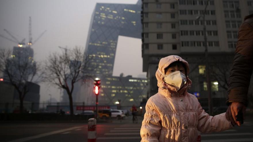 La contaminación mata a miles de personas en China cada año.