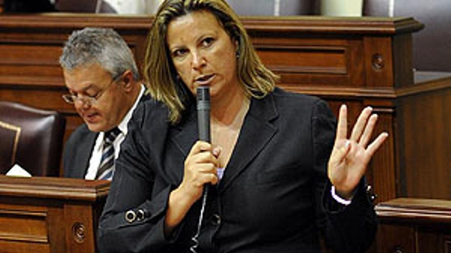 Rita Martín, consejera de Turismo del Gobierno de Canarias.
