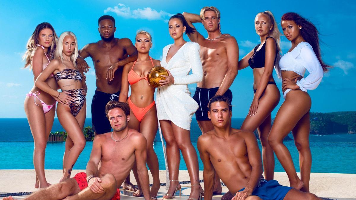 Imagen de los concursantes de 'Paradise Hotel 2021'