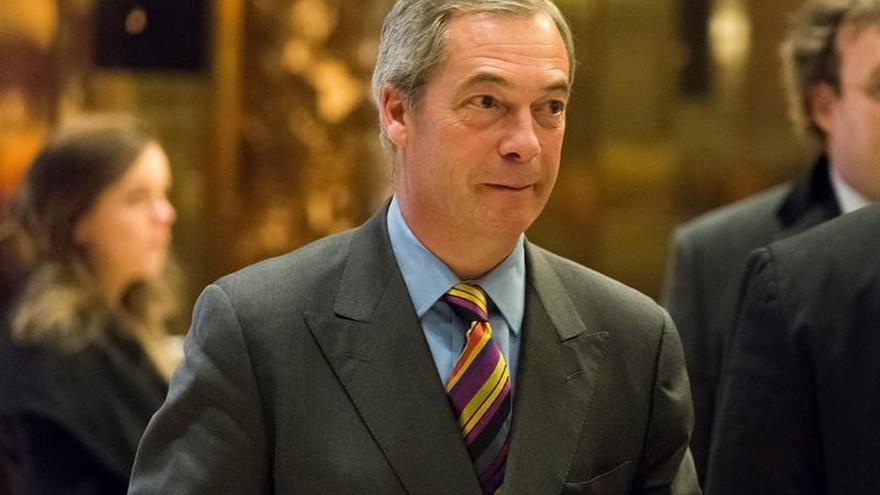 """El canal Fox News ficha al líder del """"brexit"""" Nigel Farage como comentarista"""