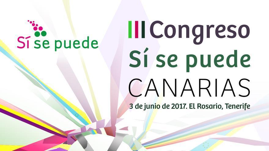 Cartel del cónclave regional de Sí Se Puede en 2017