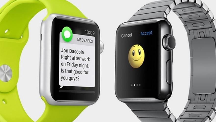 Apple Watch enviará y recibirá mensajes