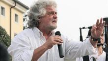 """Beppe Grillo: """"El enfrentamiento va a continuar. ¡Esto es la política!"""""""