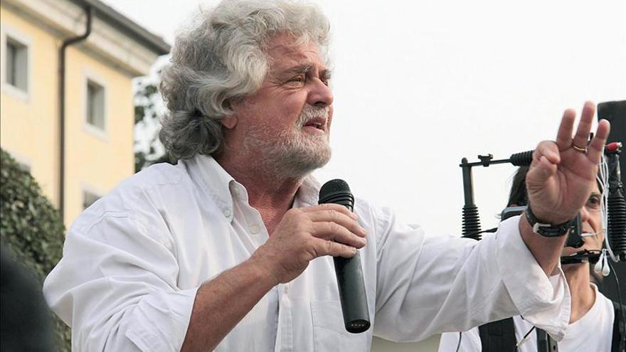 Grillo advierte de que Italia entrará en bancarrota en otoño