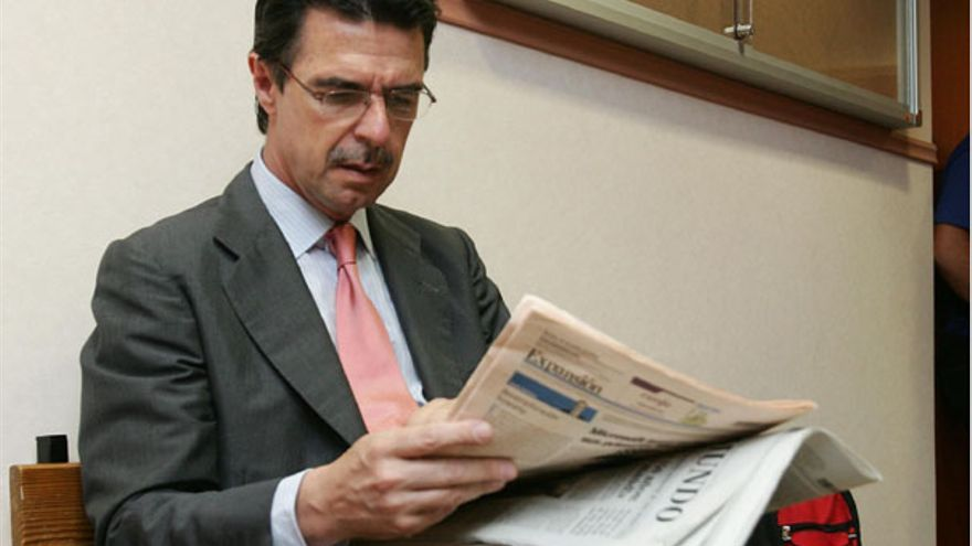 José Manuel Soria, antes de declarar