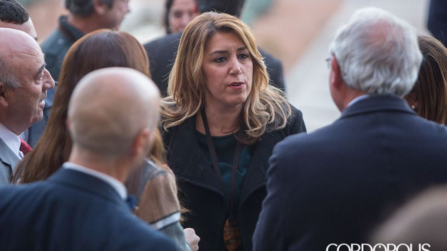 Susana Díaz, en Córdoba | MADERO CUBERO