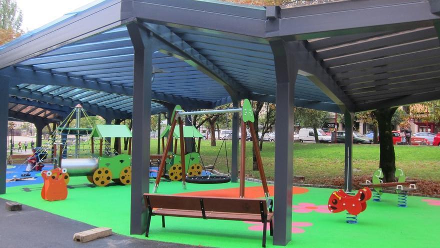 Barakaldo inaugura su primer parque infantil cubierto, tras un ainversión de 173.00 euros