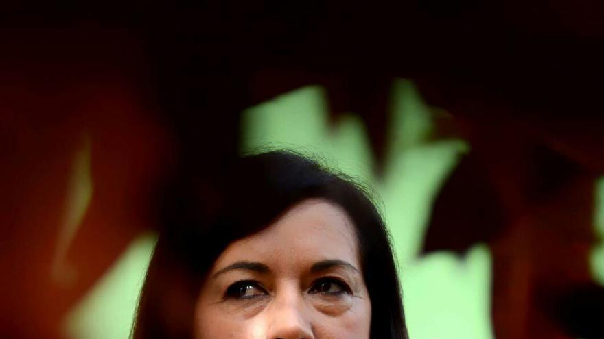 La maquilladora Carmen Asencio.