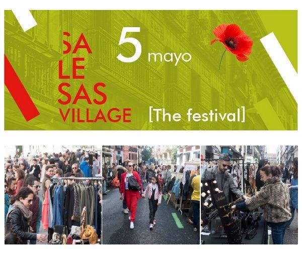 Cartel Salesas Village [The Festival] mayo 2018