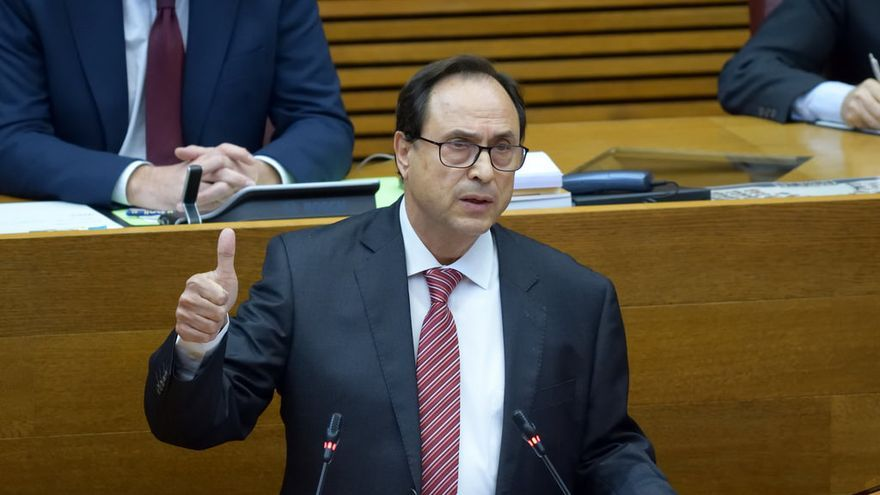 El conseller de Hacienda, Vicent Soler