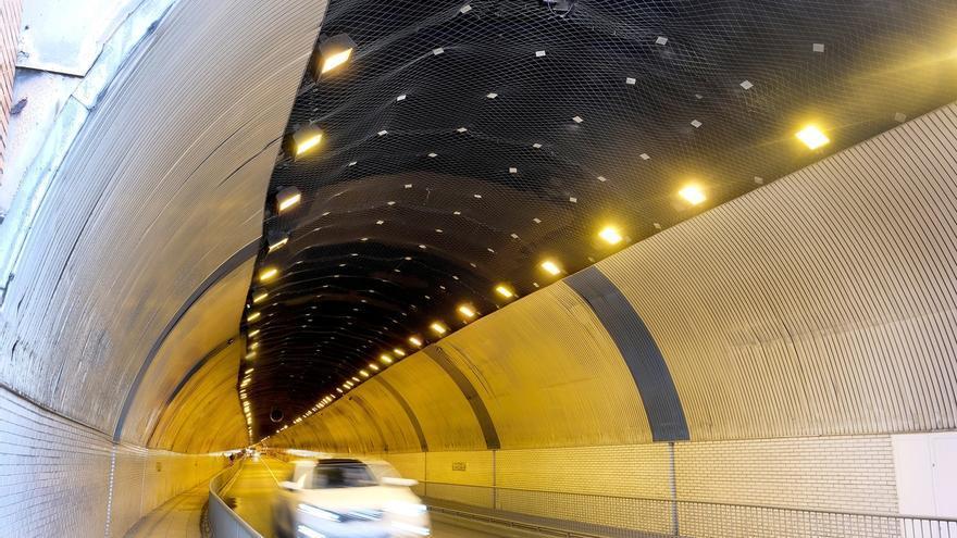 Finaliza la reparación de la bóveda del túnel de Tetuán tras una inversión de 187.000 euros