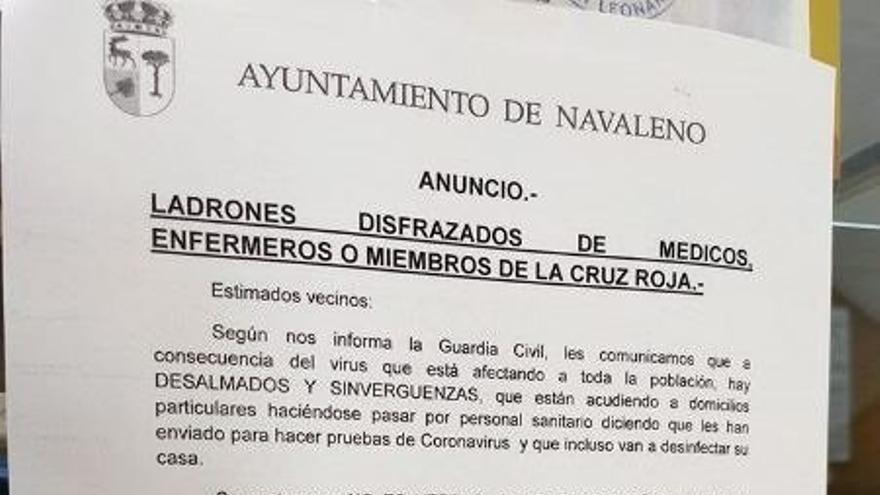 Anuncio del Ayuntamiento de Navaleno (Soria).