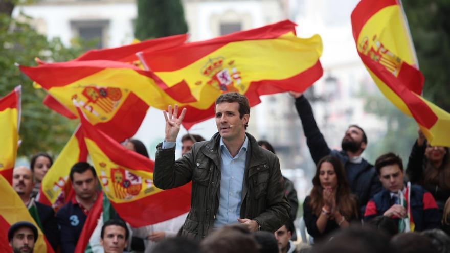 """Casado convocará a los constitucionalistas para trabajar juntos en la unidad de España: """"Sánchez tiene que elegir"""""""